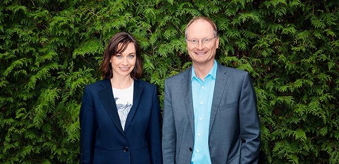 Christiane Paul und Sven Plöger