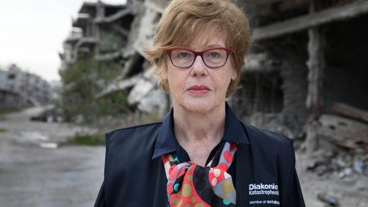 Cornelia Füllkrug-Weitzel, Präsidentin der Diakonie Katastrophenhilfe
