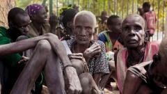 Blutige Konflikte haben im Suedsudan, in Somalia, in Nordost-Nigeria und im Jemen schwere Hungerkrisen verursacht.