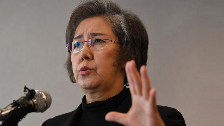 Yanghee Lee, Sonderberichterstatterin der Vereinten Nationen für Menschenrechte in Myanmar