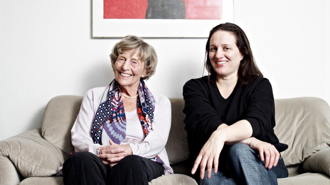 Margerete Mitscherlich und Bettina Röhl