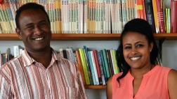 Duale Hassan Gaphaneh und Martha Berkes.