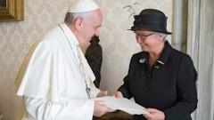 Botschafterin Schavan beim Papst
