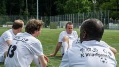 Spieler des FC Weltreligionen Bern
