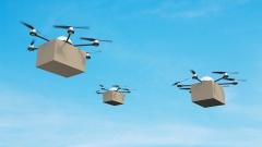 Drohnen mit Pakten