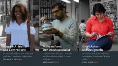 Ohne Arbeit geht es nicht: Drei Integrationsgeschichten