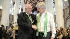Disputation mit Kardinal Marx und EKD-Ratsvorsitzendem beim Katholikentag