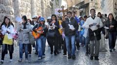 Tausende Pilger bei Karfreitagsprozession in Jerusalem