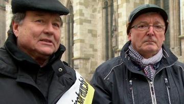 """""""Missbrauch in der katholischen Kirche"""": Ehemalige Regensburger Domspatzen fordern schonungslose Aufklärung."""