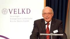 Der Leitende Bischof der VELKD, Nordkirchen-Bischof Gerhard Ulrich, gibt seinen Bericht.