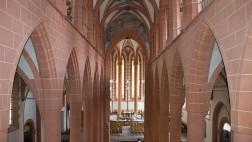 Blick in die Heiliggeistkirche in Heidelberg