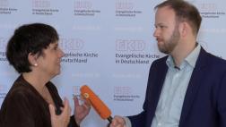 Margot Käßmann und Markus Bechtold im Gespräch