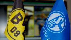 Himmlisches Derby: Schalke gegen Dortmund