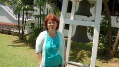 Pfarrerin Lidia Rabenstein in Singapur