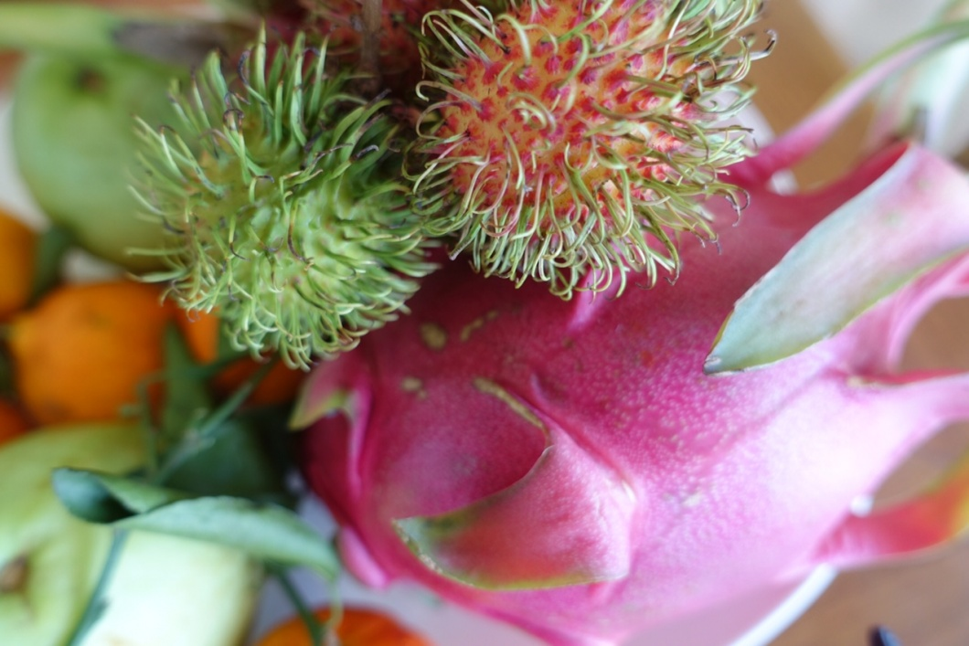 Rambutan-Früchte