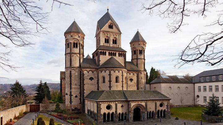 Benediktinerabtei Maria Laach, Rheinland-Pfalz.