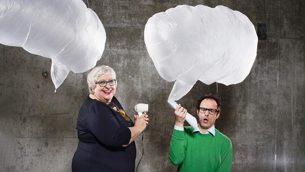 Sabine Asgodom und Vince Ebert