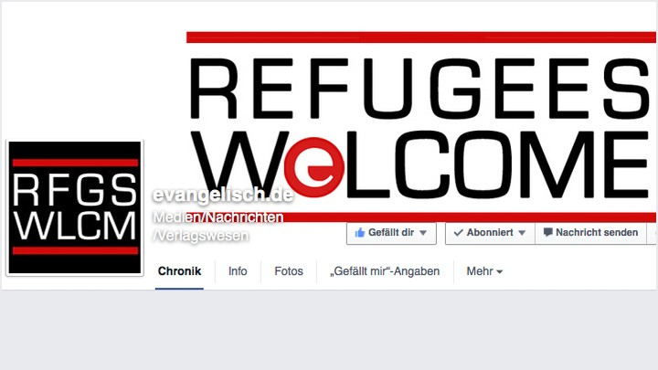 Facebook - Refugees welcome