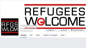 Facebook - Refugees welcome