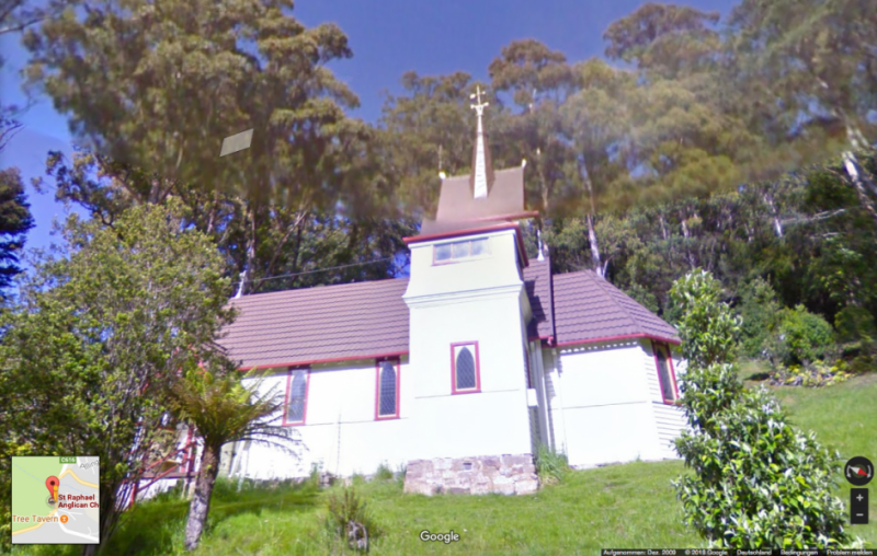 St. Raphael's Church in Fern Tree, Tasmanien