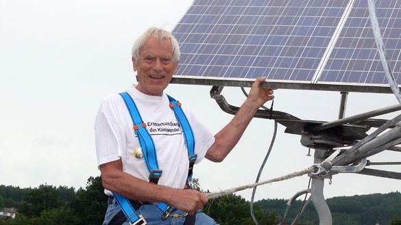 Klaus Schweim - vom Kernkraftingenieur zum alternativen Energieaktivisten