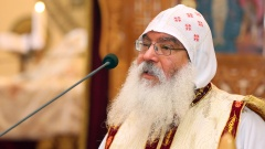 Der Generalbischof der koptisch-orthodoxen Kirche für Deutschland, Anba Damian.