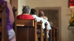 Gottesdienstbesucher