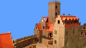 Wartburg aus Playmobil-Teilen