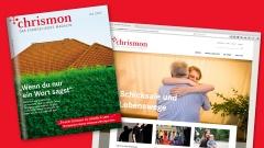 Das evangelische Magazin chrismon und chrismon.de präsentieren sich mit der aktuellen Ausgabe 04/17 mit neuer Optik und neuem Format.
