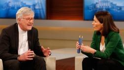 Anne Will und Heinrich Bedford-Strohm diskutieren über Obergrenze für Flüchtlinge in Deutschland.