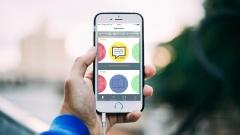 Lutherbibel 2017 als App auf einem Smartphone