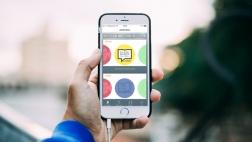 Lutherbibel 2017 als App auf einem Smartphone.