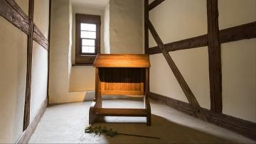 Lutherzelle im Augustinerkloster in Erfurt