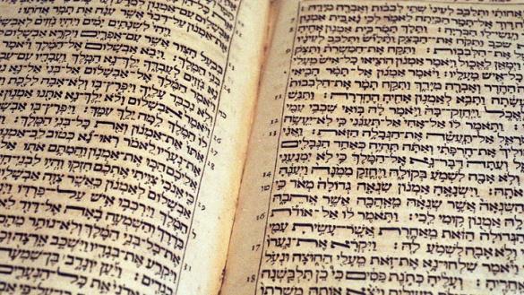 Bibel aus dem Jahr 1709