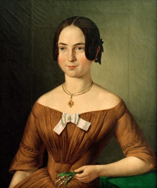Konfirmandin um 1845