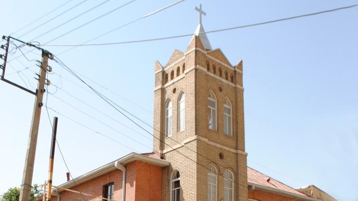 Die protestantisch-assyrische Kirche St. Johannes in Urmia im Iran.