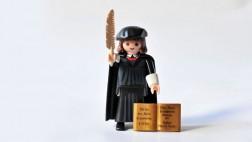 Playmobil-Luther wird Werbebotschafter