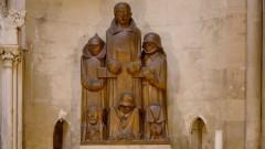 Während der NS-Zeit entfernt, 1955 wieder im Dom aufgestellt: Das Magdeburger Ehrenmal von Ernst Barlach (1929).