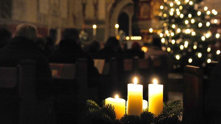 Gottesdienst mit Krippenspiel am Heiligabend 2010 in der Herrenhäuser Kirche in Hannover.
