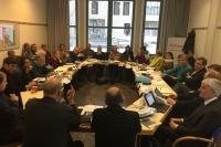 Konferenz für Friedensarbeit im Raum der EKD in Wittenberg