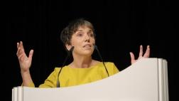 Die Reformationsbotschafterin des Rates der Evangelischen Kirche in Deutschland (EKD), Margot Käßmann, hält einen persönlichen Rücklick auf das 500. Reformationsjubiläum bei der Synodentagung der EKD.