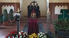 Andacht in der Friedhofskapelle für Juliusz Bursche