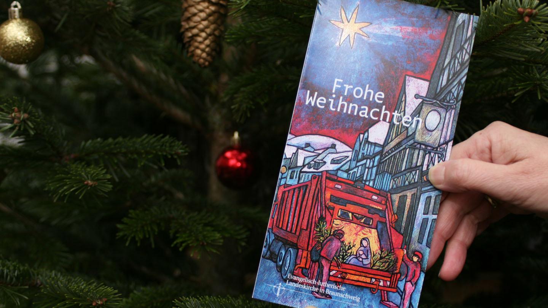 Die offizielle Weihnachtskarte der braunschweigischen Landeskirche.