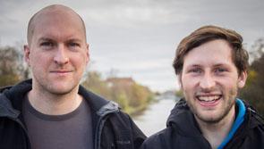Jan Michael Ihl (links) und Ruben Neugebauer