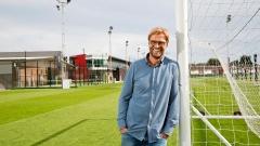 Jürgen Klopp auf dem Gelände des FC Liverpool.