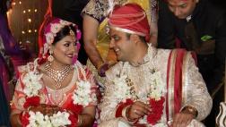 Ankita während ihrer Hochzeitszeremonie.