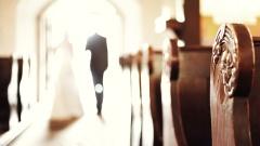 Je jünger die Brautleute, desto höher ist die Wahrscheinlichkeit einer kirchlichen Trauung.
