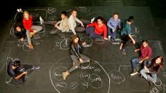 Theaterprojekt mit geflüchteten Jugendlichen in Frankfurt am Main.