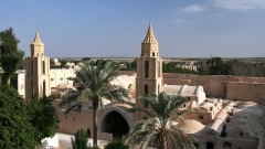 Anba Bischoy-Kloster in Ägypten