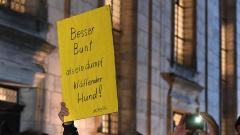 Hunderte demonstrieren in Altdorf gegen Islamfeindlichkeit